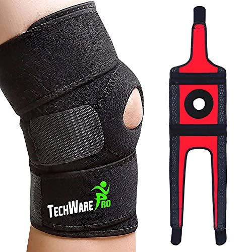 TechWare Pro Knee Brace Support - Relieves ACL, LCL, MCL, Meniscus Tear,...