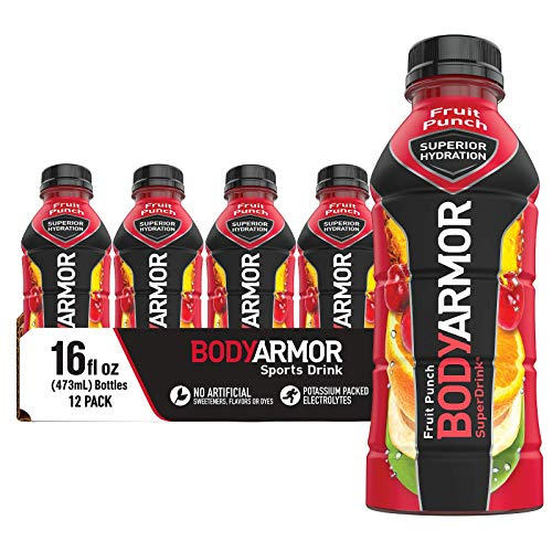 BODYARMOR Sports Drink Sports Beverage, Fruit Punch, Natural Flavors With...