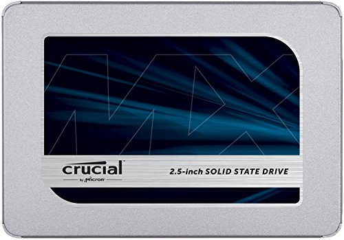 Crucial MX500 1TB 3D NAND SATA 2.5 Inch Internal SSD, up to 560MB/s -...