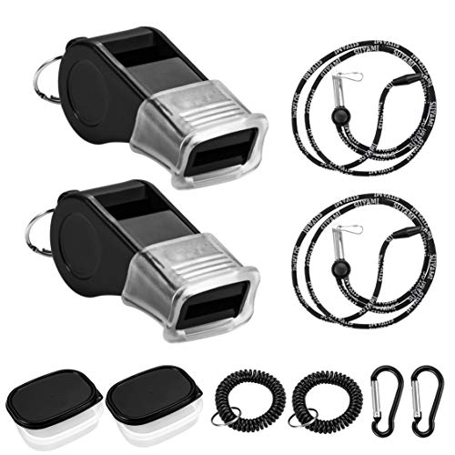 SUYAMI Sport Whistles for Coaches, Referees and Officials, with Adjustable...