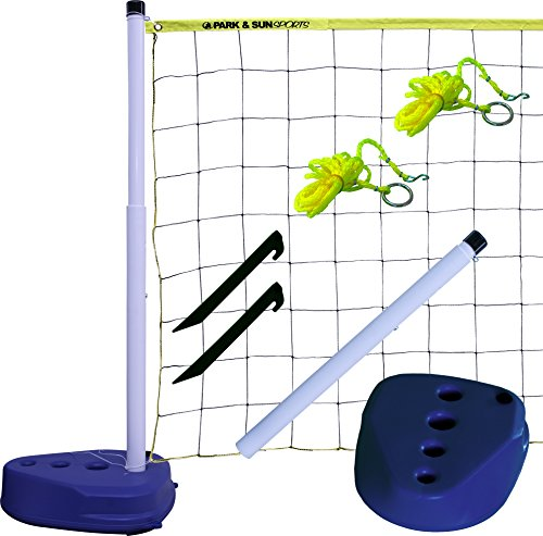 Park & Sun Sports Portable Indoor/Outdoor Swimming Pool Volleyball Net...