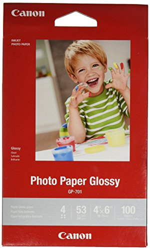 CanonInk Glossy Photo Paper 4'x 6' 100 Sheets (1433C001)