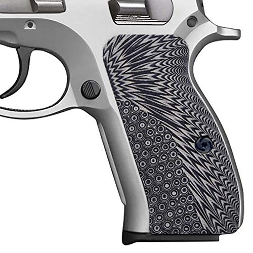 Guuun CZ 75 Compact Grips G10 Material OPS Texture fit CZ P-01 PCR CZ85...