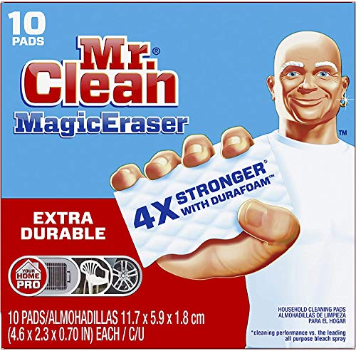 Mr. Clean Magic Eraser Extra Durable, Bathroom, Shower, and Oven Cleaner,...