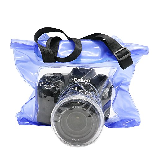 Toysdone Camera Waterproof Bag Underwater Housing Case Pouch Bag Compatible...