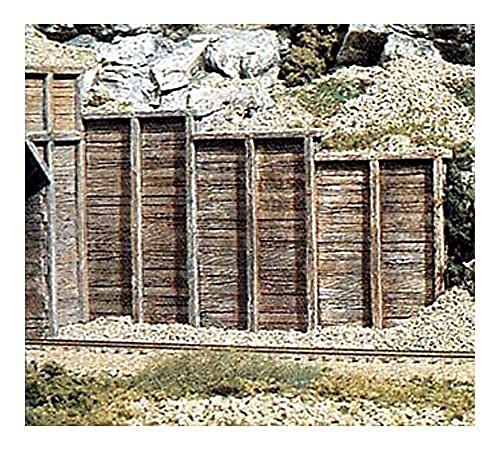 Woodland Scenics Timber N Scale Retaining Walls