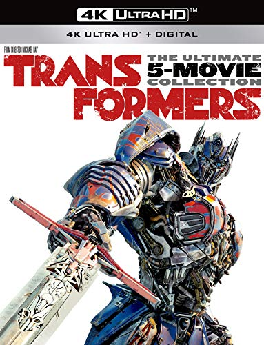 Transformers The Ultimate 5-Movie Collection [4K Ultra HD + Digital]...