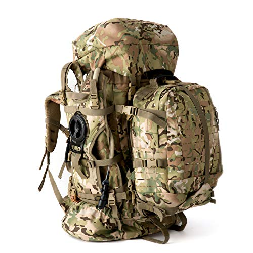 MT Military Army Large Rucksack with Detacheable Tactical Assault Backpack,...