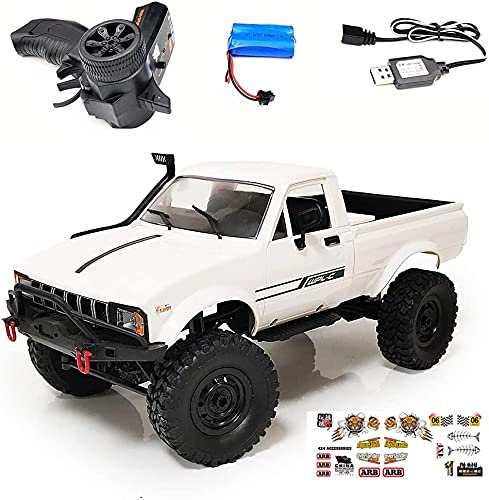 FMT WPL 1:16 C24-1 Upgrade Version Remote Control Car Full Scale 4WD...