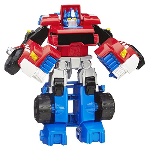 Playskool Heroes Transformers Rescue Bots Optimus Prime Action Figure, Ages...