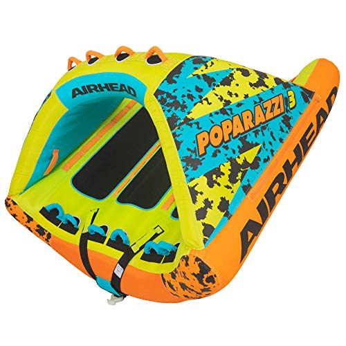 Airhead Poparazzi 2 | 1-2 Rider Towable Tube for Boating
