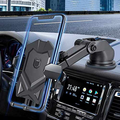 Manords Car Phone Mount Holder for Dashboard Windshield Compatible with All...