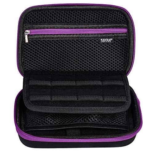 Soyan Carrying Case for Nintendo New 3DS XL and 2DS XL, with 16 Game Card...