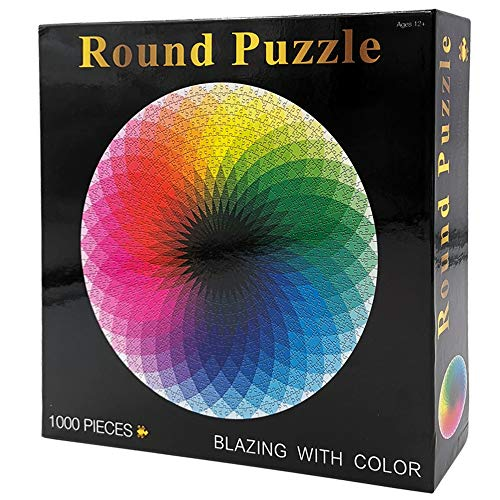 Moruska 1000 Piece Puzzles for Adults Teen - Gradient Color Rainbow Large...