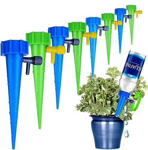 LABOTA 24 Packs Self Watering Spikes, Adjustable Plant Watering Spikes with...