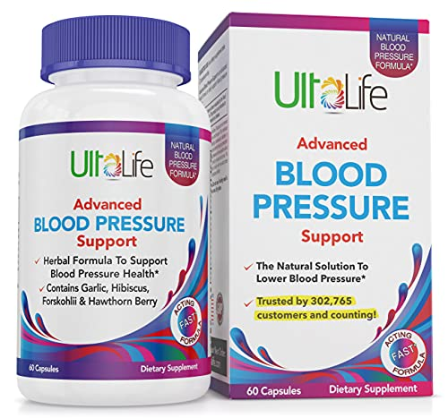 Top High Blood Pressure Support Supplements by UltaLife - Natural...