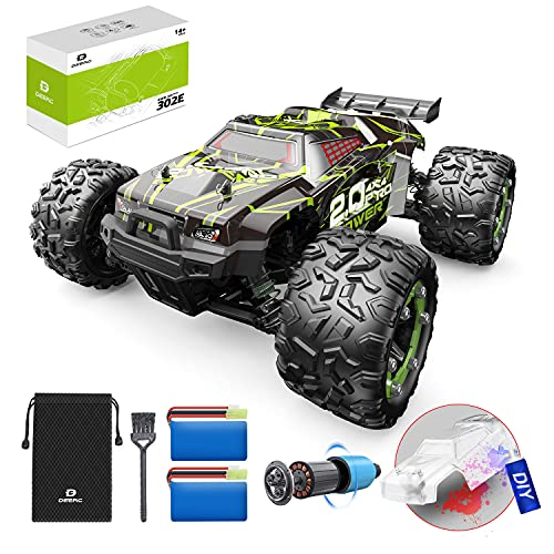 DEERC Brushless 302E RC Cars, Upgraded 60KM/H High Speed Remote Control Car...