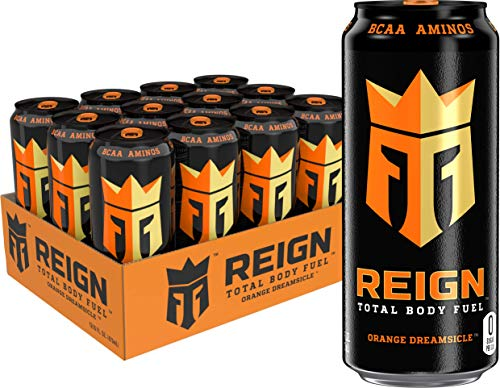 Reign Total Body Fuel, Orange Dreamsicle, Fitness & Performance Drink, 16...