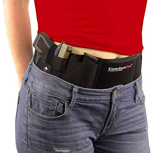 Ultimate Belly Band Holster (Black, Medium and Large Pistol)