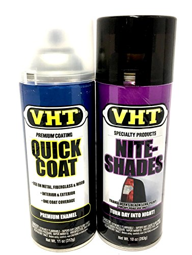 Nite-Shade & Clear Coat Blackout Kit Tinting Paint - VHT SP999 + SP515 :...