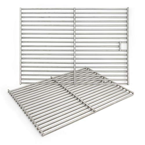 Hongso 17 3/8' Solid 304 Cooking Grill Grid Grate for Home Depot Nexgrill...