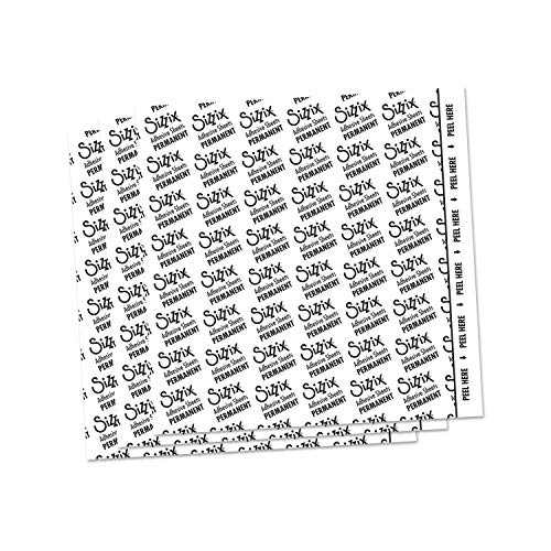 Sizzix Adhesive Sheets, 6 by 6-Inch, 10/Pack