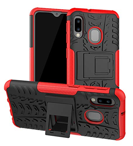 Samsung Galaxy A10E Case, Yiakeng Shockproof Slim Protective with Kickstand...