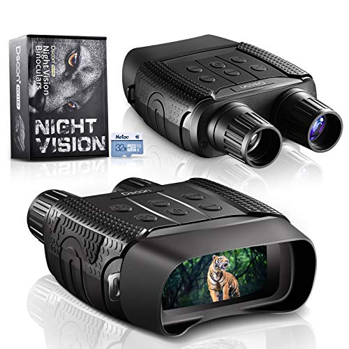 Night Vision and Day Binoculars for Hunting in 100% Darkness - Digital...