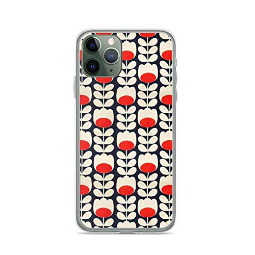 Phone Case Orla Kiely Flowers Design Compatible with iPhone 6 6s 7 8 X Xs...