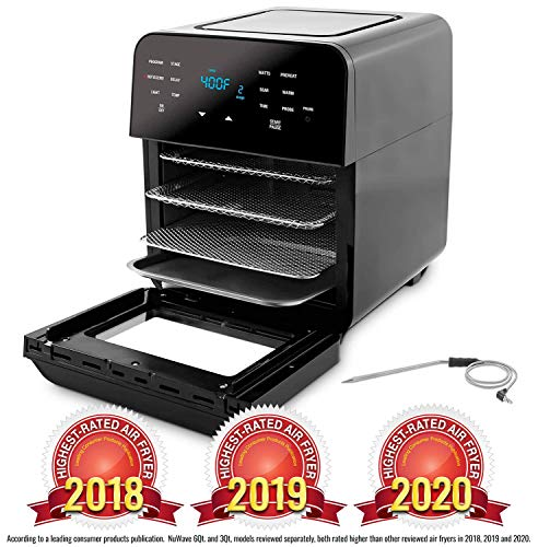 NUWAVE BRIO 14-Quart Large Capacity Air Fryer Oven with Digital Touch...
