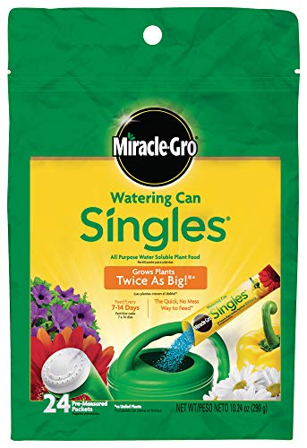 Miracle-Gro Watering Can Singles All Purpose Water Soluble Plant Food,...