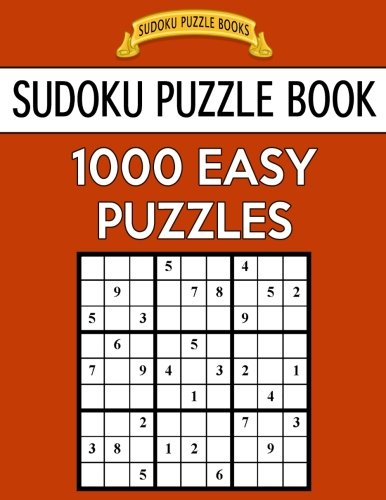 Sudoku Puzzle Book, 1,000 EASY Puzzles: Bargain Sized Jumbo Book, No Wasted...