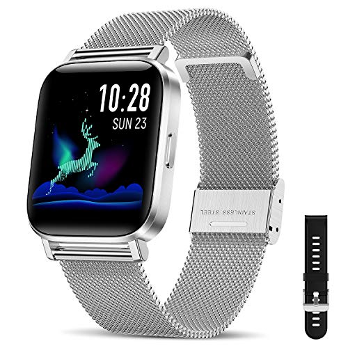 CanMixs Smart Watch for Android Phones iOS Bluetooth Smart Watches for Men...