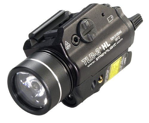 Streamlight 69261 TLR-2 HL 1000-Lumen LED Rail Mounted Tactical Light with...