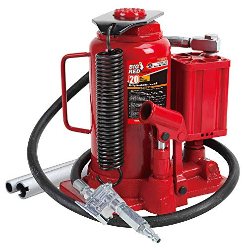 BIG RED TA92006 Torin Pneumatic Air Hydraulic Bottle Jack with Manual Hand...