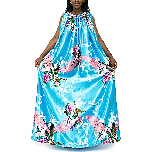 Yoni Steam Gown (Sky Peacock) , Bath Robe, full body covering , soft and...