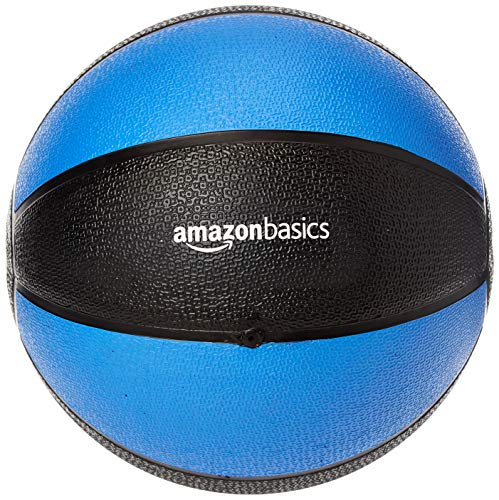 Amazon Basics Workout Fitness Exercise Weighted Medicine Ball - 10 Pounds,...