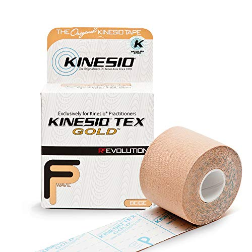 Kinesio Taping - Elastic Therapeutic Athletic Tape Tex Gold FP - Beige - 2...