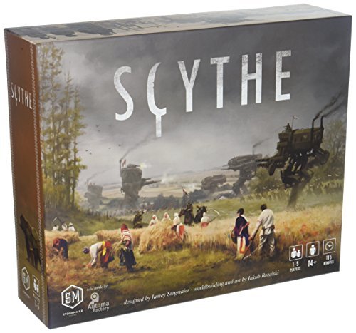 Stonemaier Games Scythe Board Game - An Engine-Building, Area Control for...