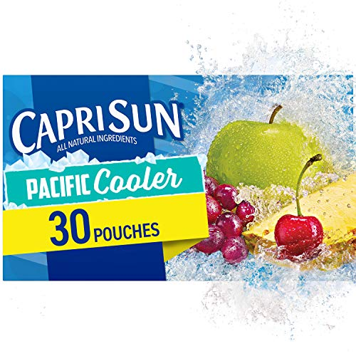 Capri Sun Pacific Cooler Ready-to-Drink Juice, 6 Fl Oz (Pack of 30)