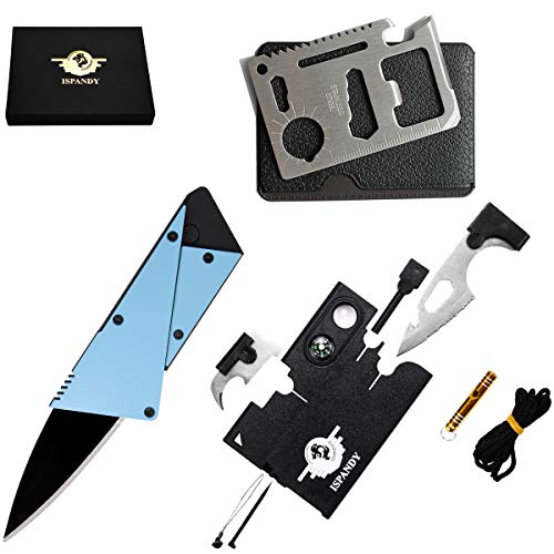 Credit Card Multitool Pocket Tool Kit Wallet Tool with Upgrade 18-IN-1...