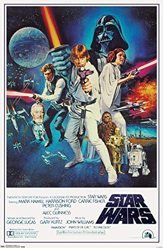 Trends International Star Wars IV One sheet Collector's Edition Wall Poster...