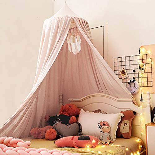 Kertnic Decor Canopy for Kids Bed, Soft Smooth Playing Tent Canopy Girls...