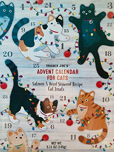 Trader Joe's Advent Calendar for Cats - Salmon and Dried, No Color, Size No...