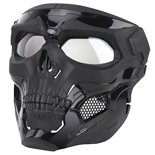 Anyoupin Airsoft Mask,Full Face Masks Skull Skeleton with Goggles Impact...