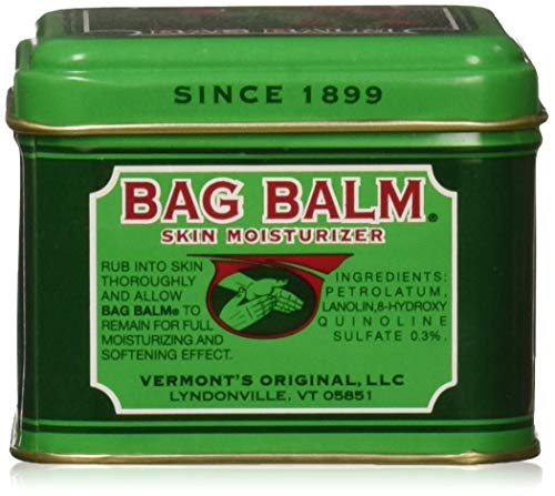 Vermont's Original Bag Balm for Dry Chapped Skin Conditions 4 ounce Tin