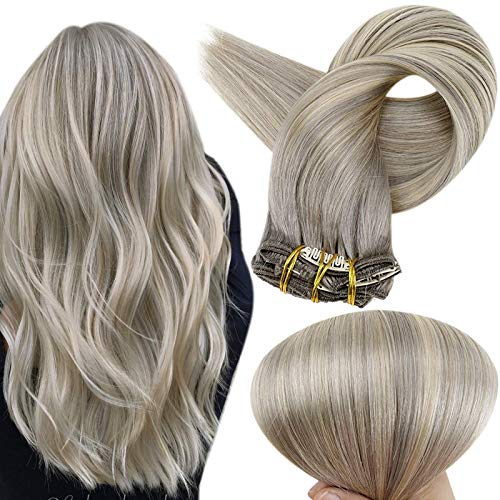 Full Shine Clip Hair Extensions 22 Inch Clips In Colored Hair Extensions...