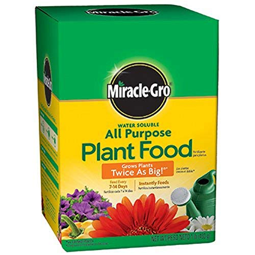 Miracle-Gro Pound 160101 Water-Soluble All Purpose Plant Food, 24-8-16,...