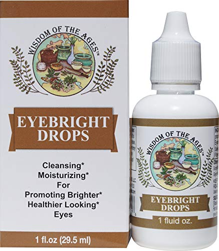 Eyebright Drops Cleansing, Soothing, Moisturizing and Refreshing Natural...
