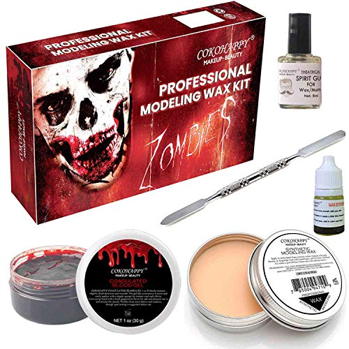 COKOHAPPY Halloween Party Stage Special Effects Wound Scar Nude Color...